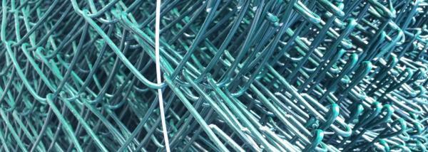 PVC bevonatos drótfonat - Magasság: 150 cm, Kockaméret: 70 x 70 mm, Huzalvastagság 2.5 mm, 25 fm/tekercs = 26 kg